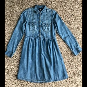American outfitters chambray Dress XS